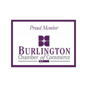 Burlington Chamber of Commerce Proud Memeber